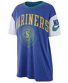 Nike Women's Seattle Mariners Retro Boycut T-Shirt