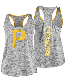 '47 Brand Women's Pittsburgh Pirates Space Dye Tank