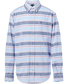 Tommy Hilfiger Big Boys Stanford Cotton Shirt