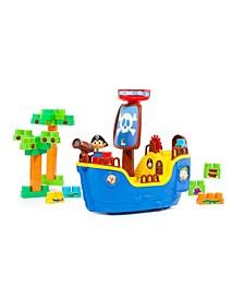 Molto - Pirate Ship Blocks, 30 Pieces