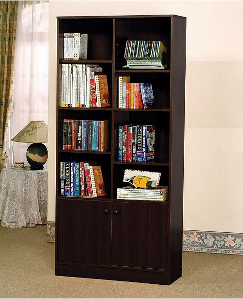 Acme Furniture Verden Bookcase with 2 Doors