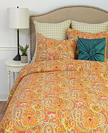 Veda Full Queen 3 Piece Quilt Set