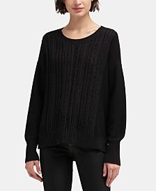 DKNY Ribbed Sweater