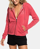 97223cdc7 Roxy Juniors' Moon Rising Zip-Up Hoodie