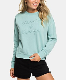 Roxy Juniors' Waves Of Change Fleece Sweatshirt