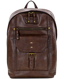 Men's Tuscan II Leather Backpack