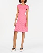 fc6606897e8e Blue Lace Dress  Shop Blue Lace Dress - Macy s