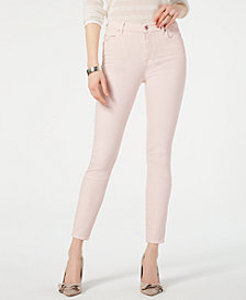 7 For All Mankind High-Waist Ankle Skinny Jeans
