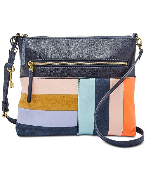 Fossil Fiona Patchwork Crossbody