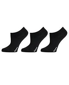 Women's 3 Pack Microfiber No-Show Socks