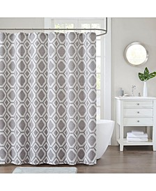 "Decor Studio Kennedy 72"" x 72"" Shower Curtain"