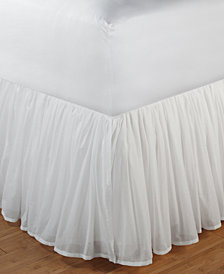 """Cotton Voile Bed Skirt 15"""" Queen"""