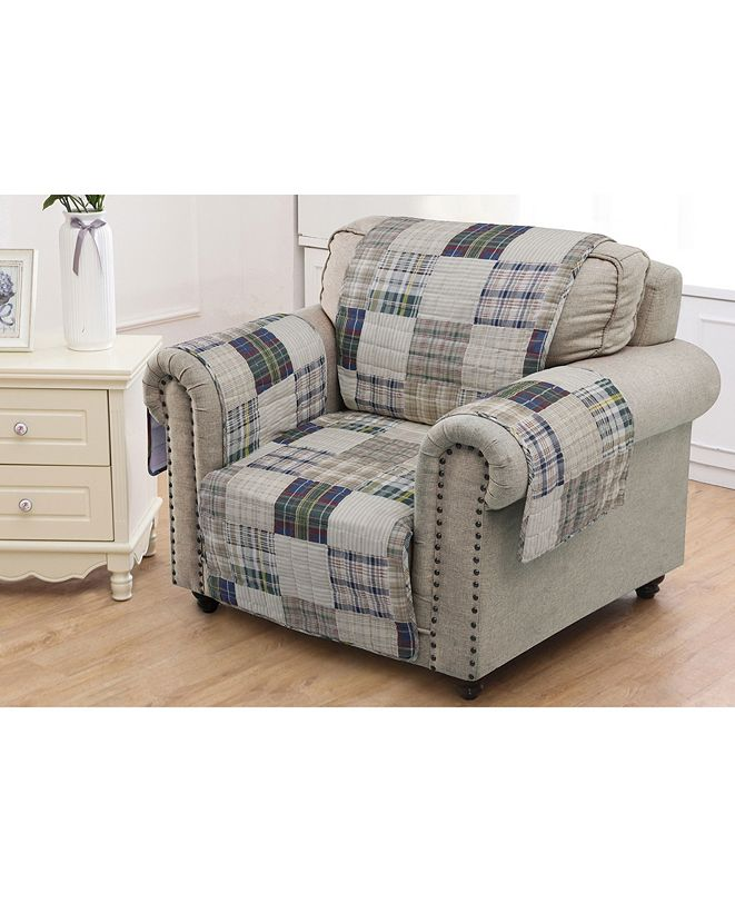 Greenland Home Fashions Oxford Furniture Protector Arm Chair