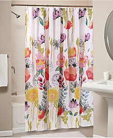 Watercolor Dream Bath Shower Curtain