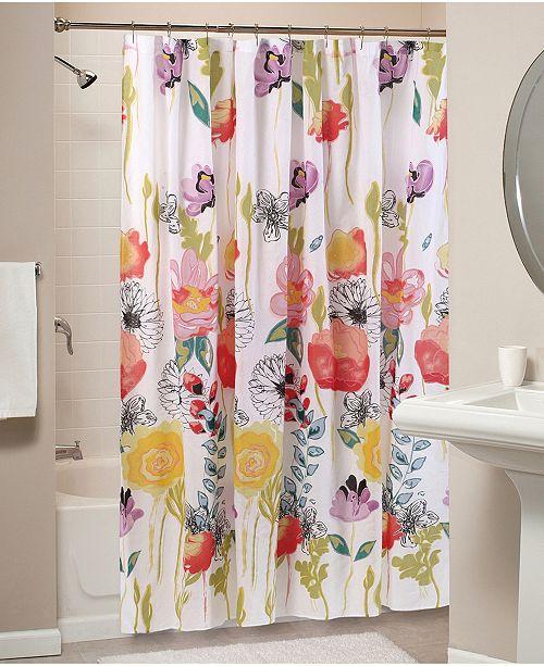 Greenland Home Fashions Watercolor Dream Bath Shower Curtain