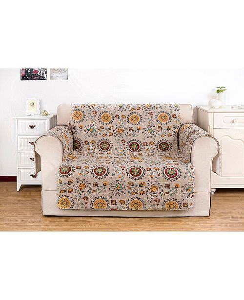 Greenland Home Fashions Andorra Furniture Protector Loveseat