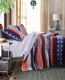 Urban Boho Quilt Set, 3-Piece Full - Queen