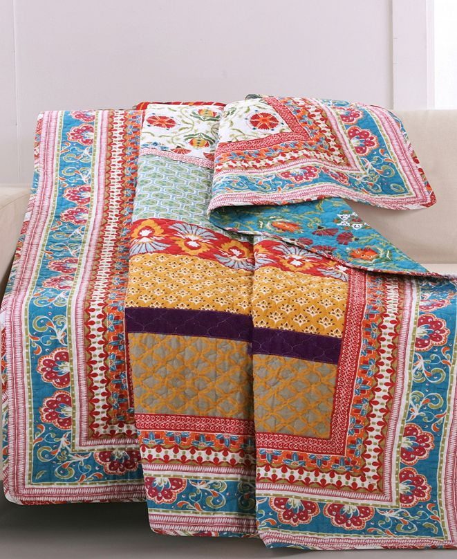 "Greenland Home Fashions Thalia Throw 50"" x 60"""