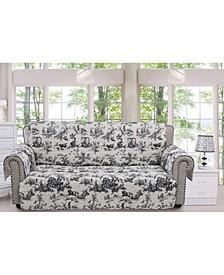 Classic Toile Furniture Protector Sofa