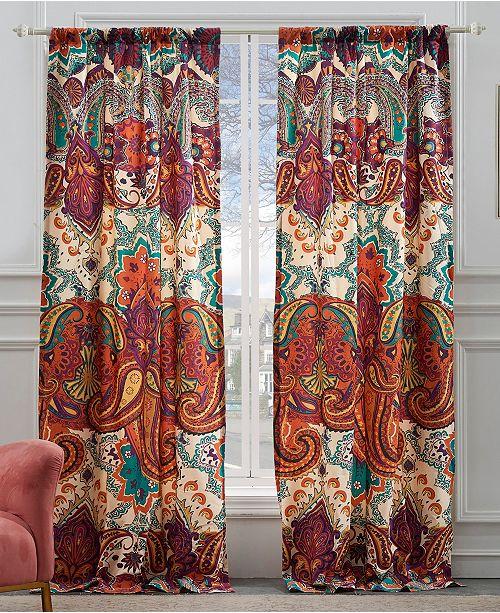 Greenland Home Fashions Nirvana Spice Window Panel Pair