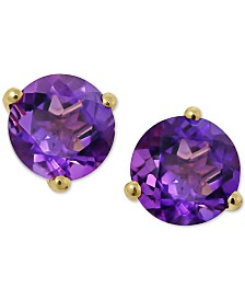 Amethyst (2-1/4 ct. t.w.) Stud Earrings in 14k Gold