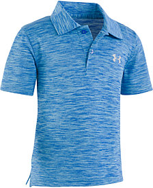 Under Armour Little Boys UA Match Play Twist Polo Shirt
