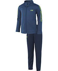 Under Armour Toddler Boys 2-Pc. Wordmark Warm-Up Set
