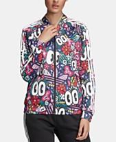 23e7d53ae8976 adidas Originals Adicolor Gallery Printed Superstar Track Jacket