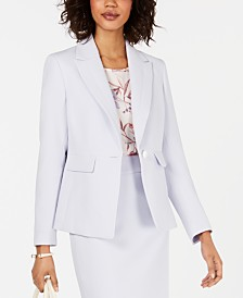 Nine West Peaked Lapel Blazer