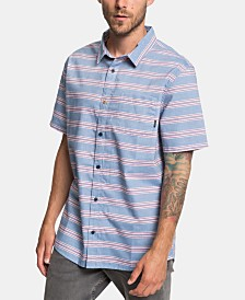 Quiksilver Men's Seajam Stripe Woven Shirt