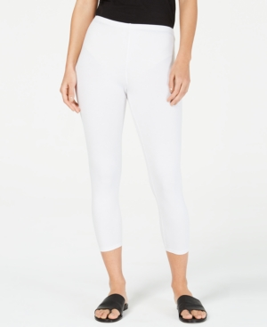 Eileen Fisher Pants ORGANIC CROPPED LEGGINGS