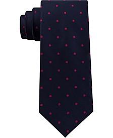 Men's Herringbone Dot Tie
