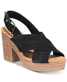 TOMS Women's Ibiza Platform Sandals