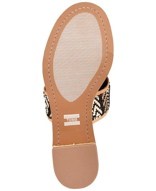 6cd8bf53525c TOMS Women s Mariposa Slip-On City Sandals   Reviews - Sandals ...