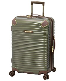 """London Fog Oxford II 25"""" Hardside Spinner Suitcase, Created for Macy's"""