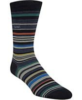 e6dbc43ea Calvin Klein Men s Striped Crew Socks