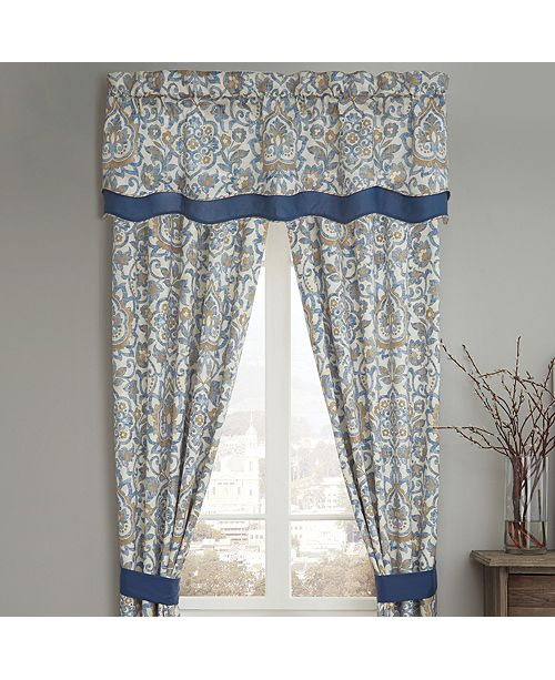 Croscill Janine Layer Scalloped Valance