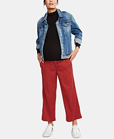 Maternity Cropped Pants