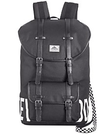 Steve Madden Men's Logo Utility Backpack