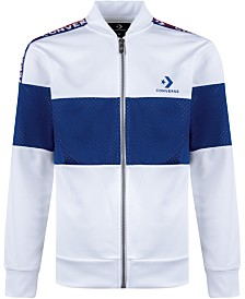 Converse Big Boys Colorblocked Track Jacket