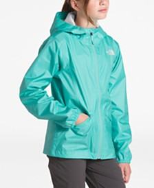 The North Face Big Girls Zipline Hooded Rain Jacket