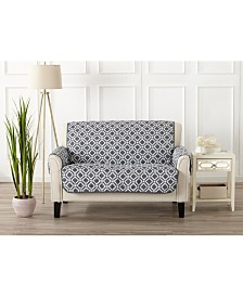 Printed Deluxe Reversible Loveseat Furniture Protector