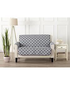 Printed Deluxe Reversible Loveseat Furniture Protector