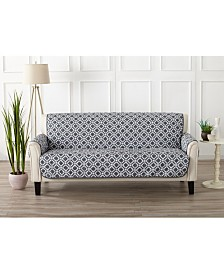 Printed Deluxe Reversible Sofa Furniture Protector