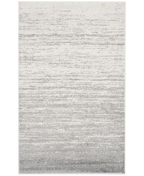 Safavieh Adirondack Ivory and Silver 3' x 5' Area Rug