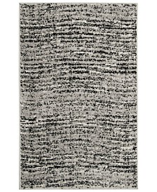 Safavieh Adirondack Black and Silver 3' x 5' Area Rug