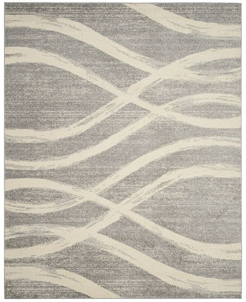 Safavieh Adirondack Gray and Cream 9' x 12' Area Rug