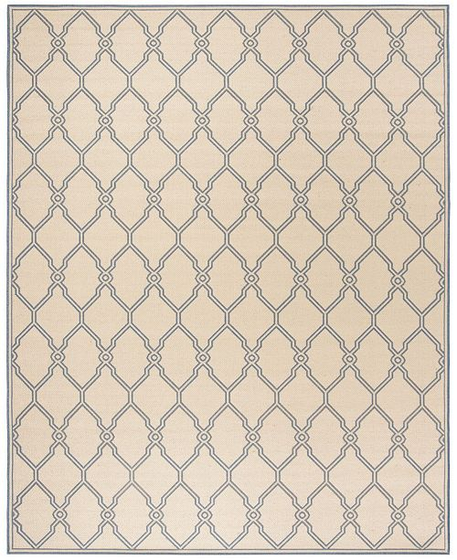 Safavieh Linden Cream and Blue 9' x 12' Area Rug