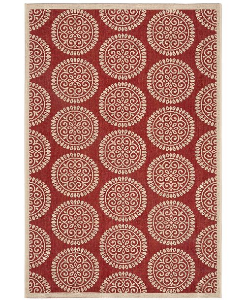 "Safavieh Linden Blue and Creme 5'1"" x 7'6"" Area Rug"