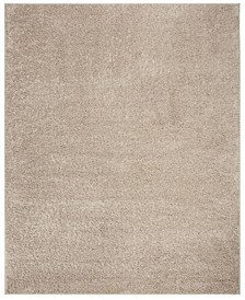 New York Shag Light Gray 8' X 10' Area Rug